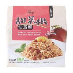 甜菜根快煮麵-家庭號840g(12入)