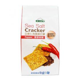 亞麻仁海鹽蘇打餅(蕎麥椒鹽) 168g