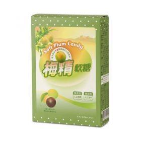 梅精軟糖65g盒