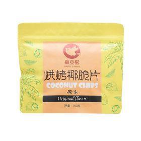 烘烤椰脆片-原味100g(馥樂)