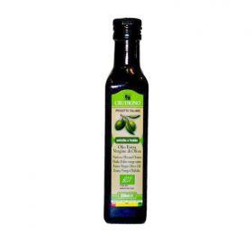 橄欖油500ml Crudigno 有機初榨冷壓