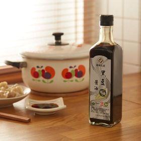 有機黑豆醬油500ml