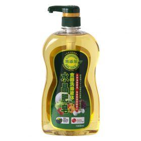 水晶肥皂食器 洗滌液体1L