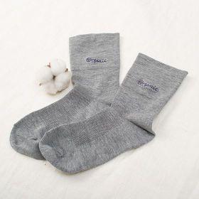 寬邊舒適襪 21-24 中灰色