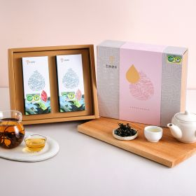 有機淨源茶禮盒 100g (2入)